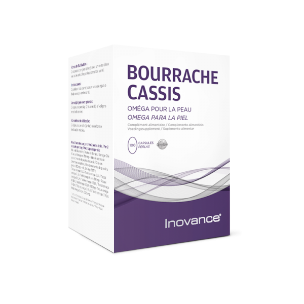 INOVANCE Bourrache-Cassis - 100 capsules