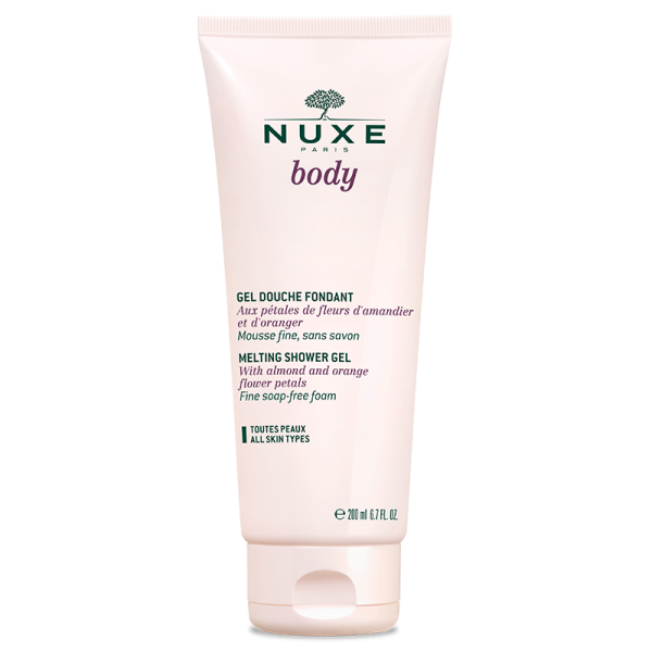 Nuxe Body Gel Douche Fondant Tube 200ml
