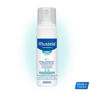 MUSTELA Stelatopia Shampooing Mousse - 150ml