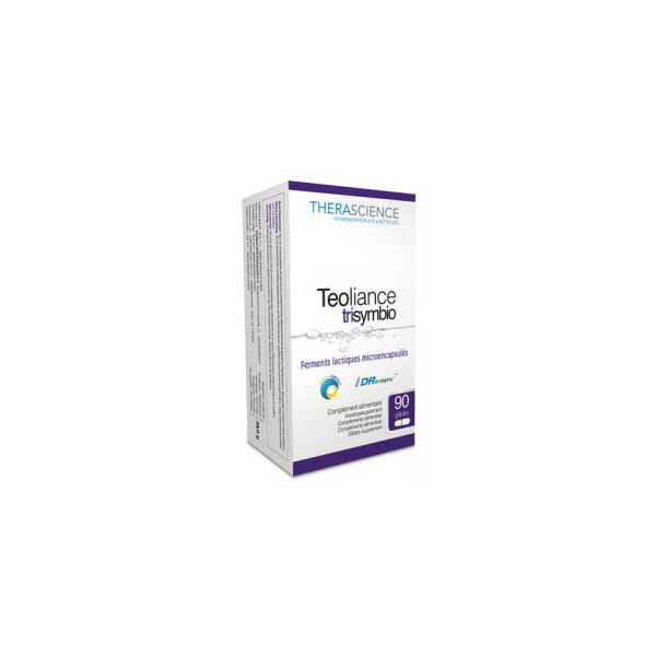Teoliance Trisymbio 90 gélules - Therascience
