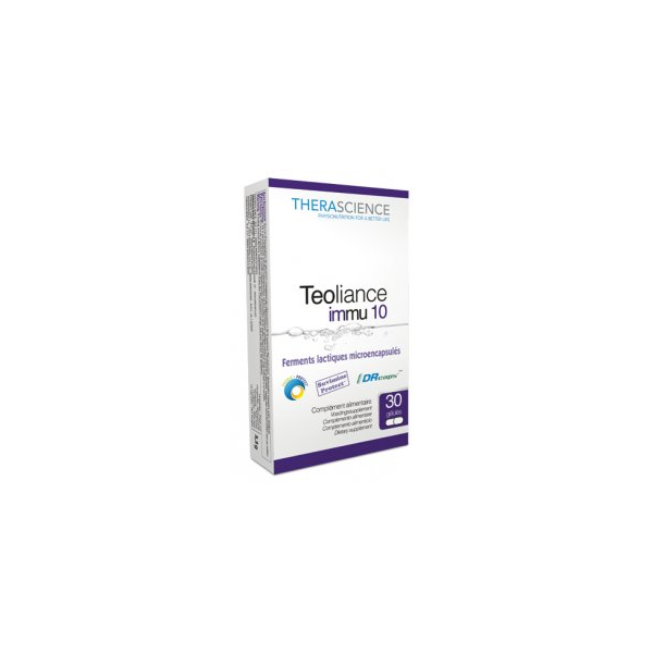 Teoliance Immu 10 30 gélules - Therascience