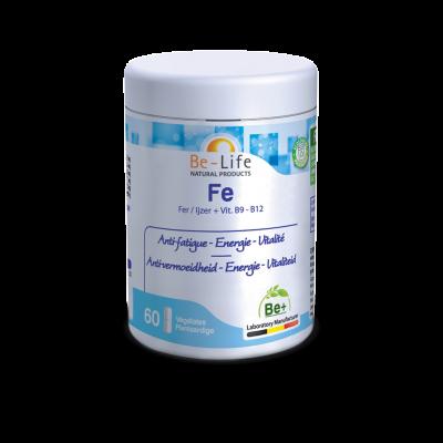 Fe (fer) - 60 gélules - Be-Life (Biolife)