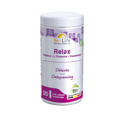 RELAX - 120 gélules - Be-Life (Biolife)