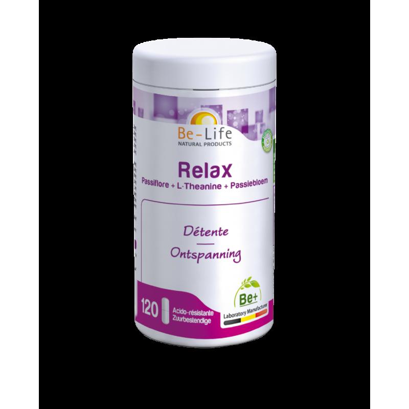 BE-LIFE Relax - complément naturel phytothérapie - passiflore l-theanine