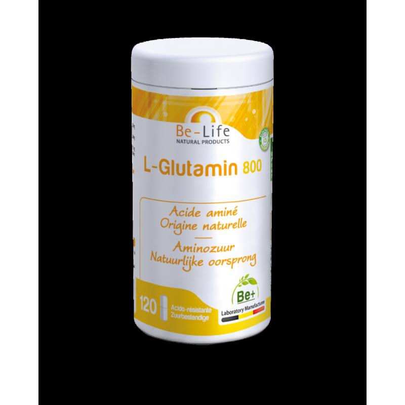 L-GLUTAMIN 800 - 120 gélules - Be-Life (Biolife)
