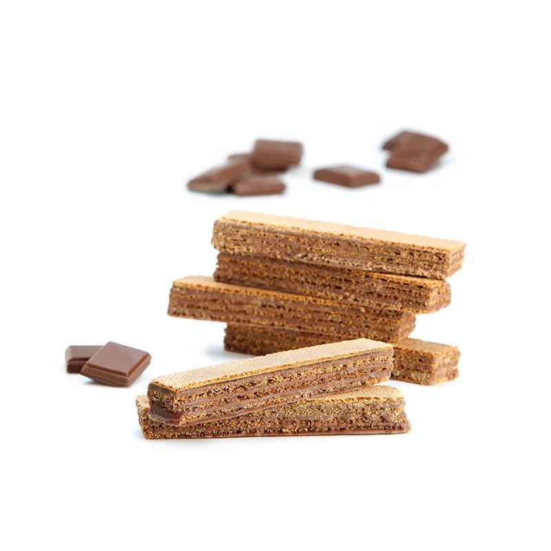 PROTEIFINE Gauffrettes au chocolat - 5 sachets