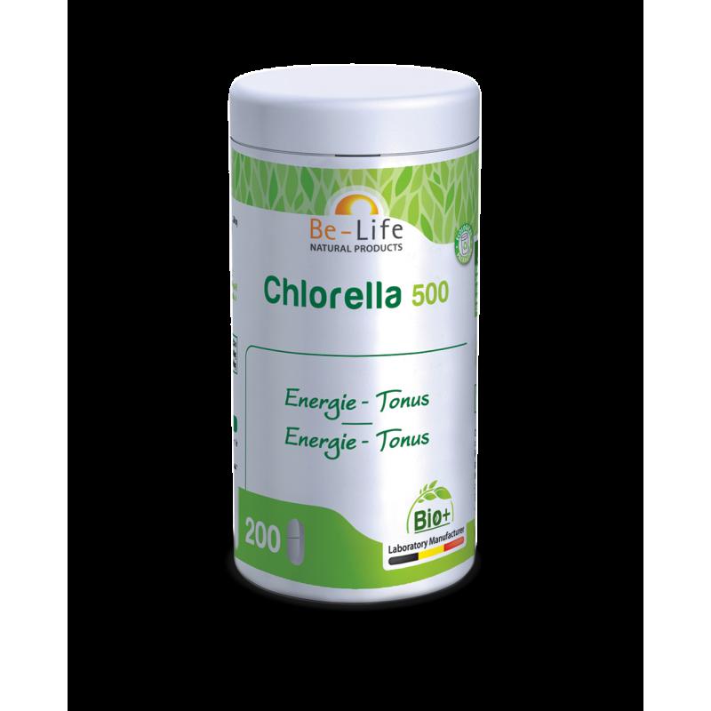 BE-LIFE Chlorella 500 - 200 gel