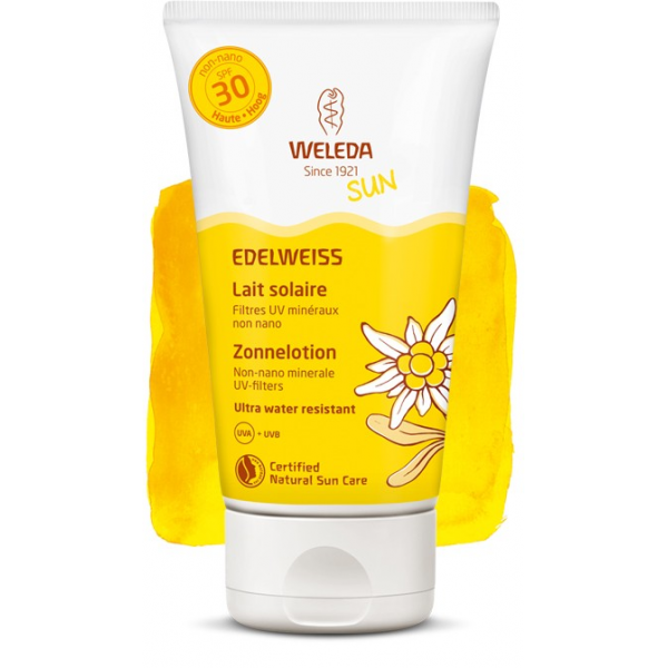Weleda Edelweiss Lait Solaire Ip30 150ml