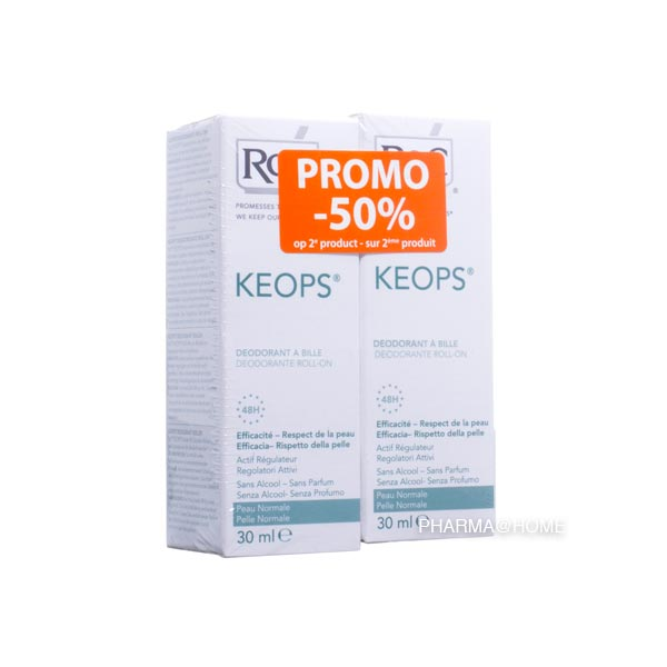ROC Keops Deo Bille 48h Duo 2e -50%