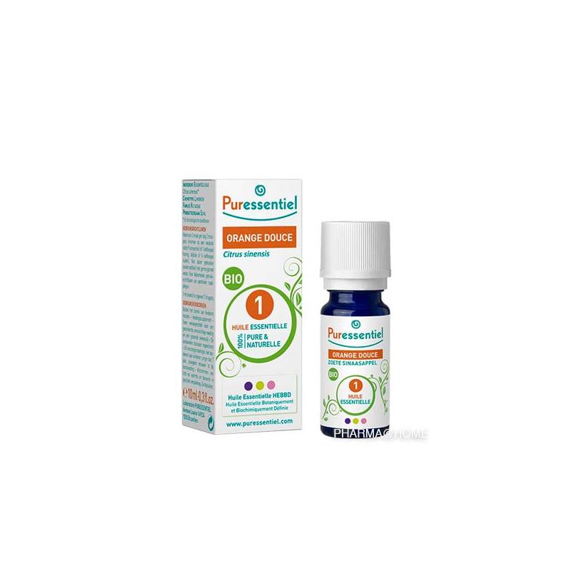 PURESSENTIEL huile essentielle bio orange douce