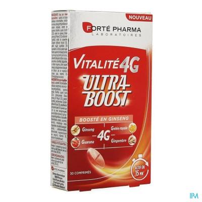 FORTE PHARMA Vitalité 4G Ultra Boost Ginseng 30 comprimés - fatigue et stimulant