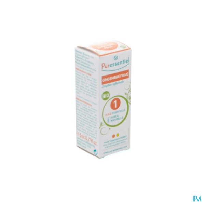 Huile essentielle BIO gingembre frais - Puressentiel