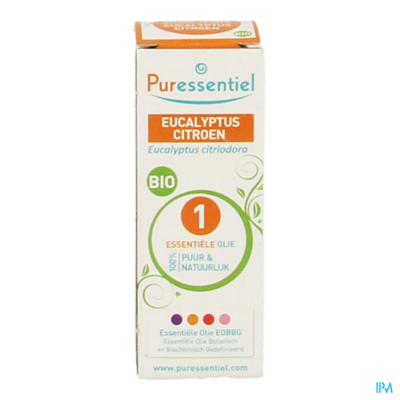Puressentiel He Eucalyptus Citron Bio Hle Ess 10ml