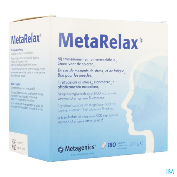 METAGENICS MetaRelax - 180 comp.