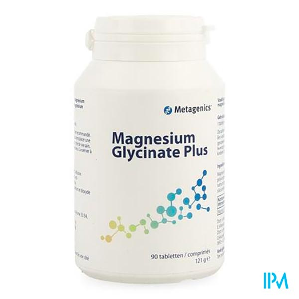 MAGNESIUM GLYCINATE PLUS 90 COMPRIMES - Funciomed (Metagenics)