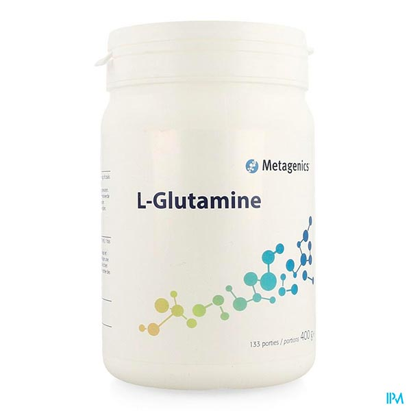 L-GLUTAMINE - 400 G - Funciomed (Metagenics)